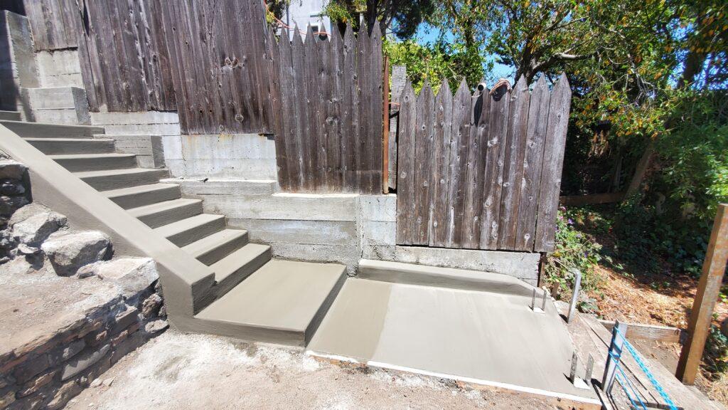 Concrete stairs san francisco