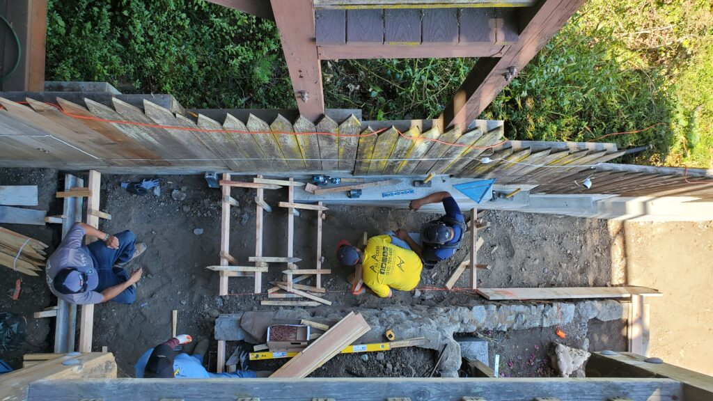 How to Install concrete stairs bay area
