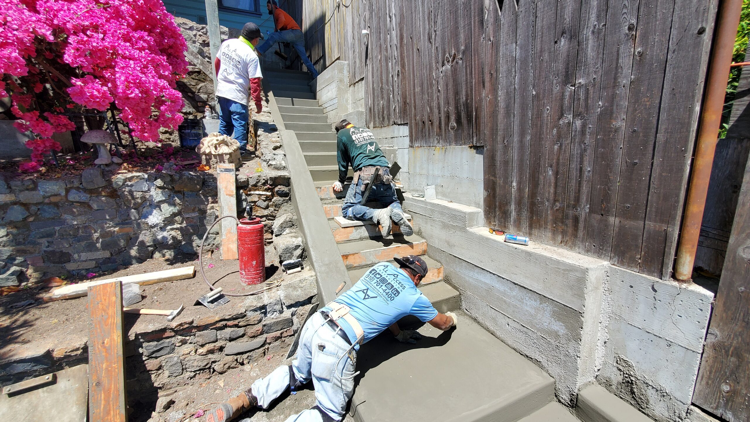 Poured In Place Concrete Stairs San Francisco (Video)