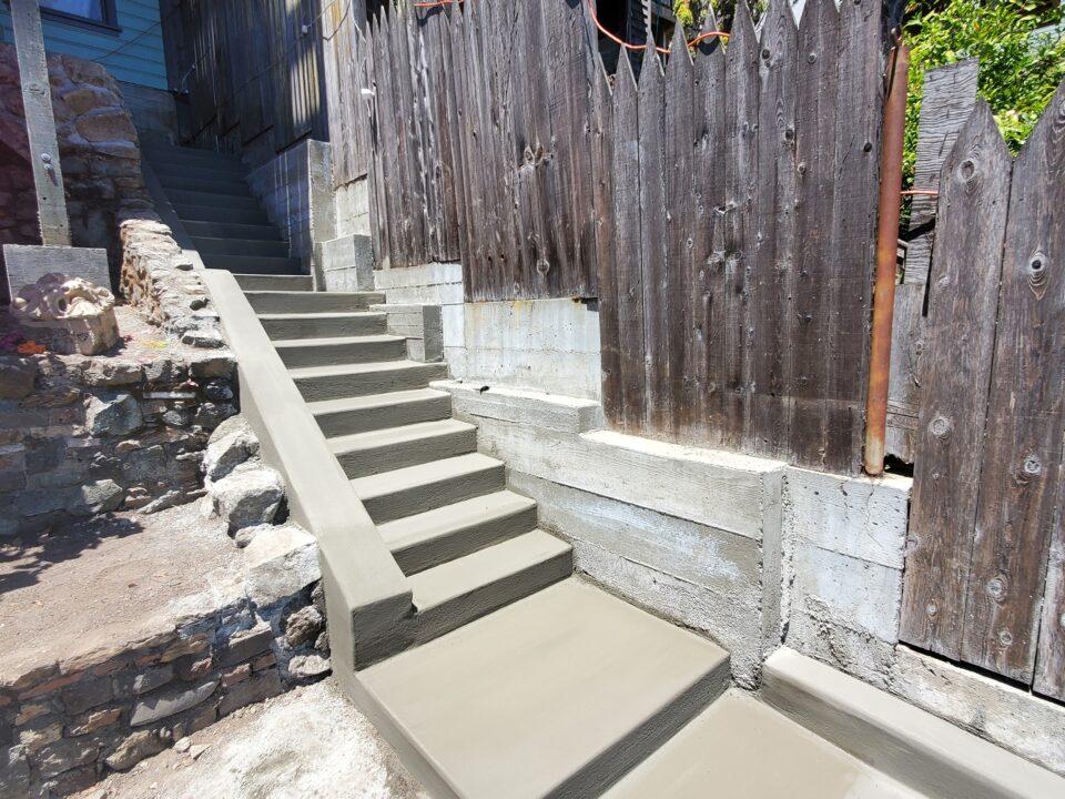 9 Concrete steps San Francisco
